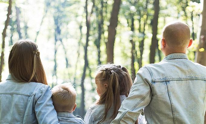 子育て,ストレス解消,森林浴,効果