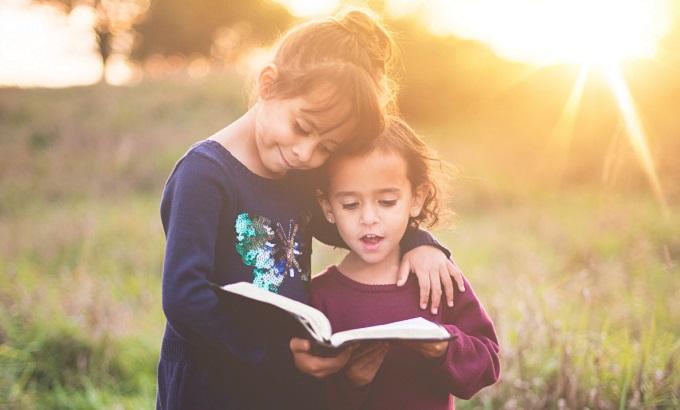 就学前,読書,子供,本好き
