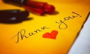 【感謝のメッセージ例文】好印象を与える・相手の印象に残る言葉